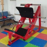 Color Optional Yongwang Fitness Equipment 45 Degree Leg Press Gym Machine
