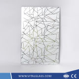 4-6mm Decorative Acid Etched Art Glass with CE & ISO9001