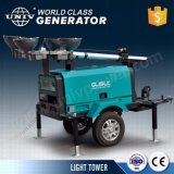 Portable Diesel Engine Light Tower Halogen Lamp 5kw Special Price for Sale