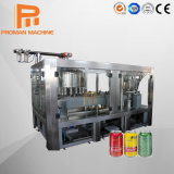 Plastic Aluminum Tin Can Fresh Juice Filling Production Line PLC Control with Touch Screen