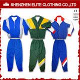 Wholesale Cheap Cotton Knitted School Uniform Sport Tracksuit (ELTTI-41)