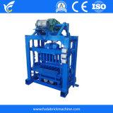 Low Labor Cost Qt4-24 Semi Auto Cement Block Making Machine/ Manual Building Block Machinery/ Solid Bricks Molding