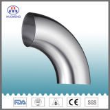 Sanitary Stainless Steel Pipe Fitting: 90 Degree Welded Elbow