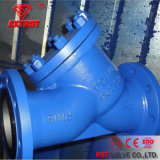 DIN Cast Steel/Stainless Steel Flanged Y Strainer (PN16/PN40)