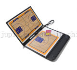 OEM Leather Folded Magnetic Coach Board for Basketball and Soccer
