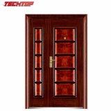 TPS-30ASM Cheap Ss 304 Stainless Steel Door Price, Modern Exterior Stainless Steel Door Design