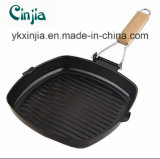Cookware Carbon Steel Steak Grill Pan Kitchenware