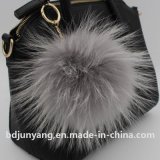 High Quality Raccoon Fur Ball Keychain Promotion Gift