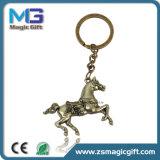 Promotional Wholesale Price Zinc Alloy Die Casting 3D Horse Key Chain