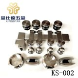 Bathroom sliding glass door kit roller hardware accessory enclosure fitting FS-002