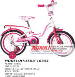 16′′ Girls Bike Kids Bike with White Tires (MK16KB-16108)