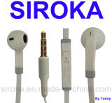 Normal Chip Stereo Earphone with White for Smartphones