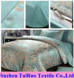 100% Polyester Jacquard Satin for Bedding Set