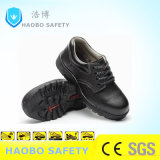 Us$5 Cheap Rubber Sole Steel Toe MID Plate Genuine Leather Waterproof Durable Industrial Work Working Safety Shoes