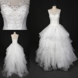 Elegant Beading Floor Length Ballgown Wedding Dress Bridal Dresses Sq7020