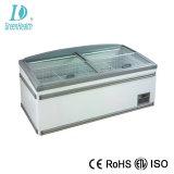 Auto Defrost Supermarket Combi Island Freezer with Ce