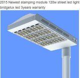 2015 Newest Stamping Module 120W Street LED Light Bridgelux LED 3years Warranty
