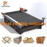 Corrugated Carton Cutting Machine Factory Price with Ce