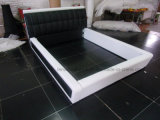 A086 Bedroom Furniture Leather Home Bed