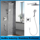 Us Quality High Pressure 3-Way Twin Handheld Shower Combo Showers Set Shower Head Multi-Function Combo Set