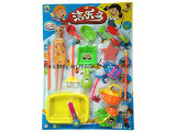 Funny Design Plastic Toys of Children Cleaning Set