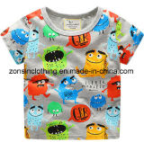 Boys′ Colorful Summer Short Sleeve T-Shirt Children Clothes