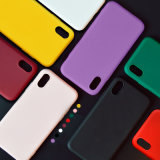 for iPhone Xs High Quality 1.4mm Candy Color Matte Soft TPU Silicone Phone Case Cover for iPhone X Xs Max 8 7 6 6s Plus 6s 5s 8 Plus Ypf31