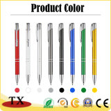 Custom Promotion Cheap Advertising Colorful Metal Ball Pen for Promotional Gift Pen