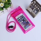 Light Weight Cheap Water Proof Clear PVC Plastic Cell Phone Case