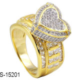 High Quality Fashion Jewelry Silver Love Ring