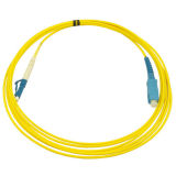 1m Simplex Fiber Patch Cord 2.0mm with PVC and Sc/Upc