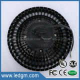 2017 Dlcul Ce RoHS Premium Approved 125lm/W AC100-277V and AC180-528V UL UFO 200W LED High Bay Light