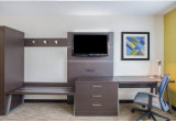 Custom Made Holiday Inn Hotel Bedroom Guest Living Room Wooden Furniture