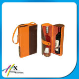 Custom Fashion Plastic PP Red Wine Packaging Box