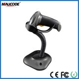 Laser Handfree Barcode Scanner with Bracket Holder, Autosense 1d Barcode Reader, Supermarket Retail Barcode Reader, Mj2808at