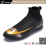New Design Indoor and Outdoor Soccer Socks Shoes Football Shoes 7154
