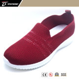 Classic Simple Design Cheap Flyknit Sneaker Canvas Injection Shoes for Adult 9309