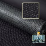 Galvanized Reverse-Twist Hexagonal Chicken Wire Mesh