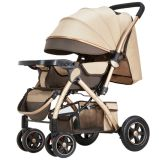 Baby Strollers Baby Strollers Are Light and Easy to Fold and Sit Under an Umbrella for Riders with Good Four-Wheel High Views
