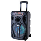 "12"" High Power Home Theater Professional Audio Music Party Outdoor Activity Trolley Bluetooth PA Speaker"
