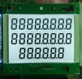 Big Size 886 7 Segment Fuel Dispenser LCD Display with PCB and White LED Backlight