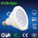 Ce RoHS 12W E27 White LED PAR30 Light