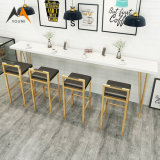 Cheap Wholesale Modern Bar Set Indoor Wooden Dining Table