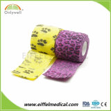 Cotton Elastic Cohesive Bandage for Vets Use