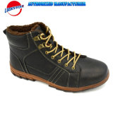 Fw18 Newest Men's Casual Shoes Classic Boots Style PU/Fur New Design in Good Price