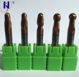 Solid Carbide Ball Nose End Mill Cutting Tools