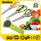 Multi-Tasking Come Apart Kitchen Scissors with Fish Scaler