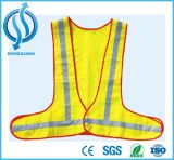 100GSM High Visible Reflective Road Vests with Two Tapes