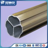 OEM Aluminium Profile for Roman Blind Pole with Anodized Bronze Color