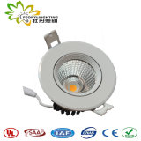 2018 New Design 10W LED Down Light, IP44 Lifud Driver LED Downlighting